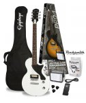 Epiphone PRO-1 Les Paul Junior Performance Pack Rocksmith Alpine White AW