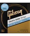 Gibson Brite Wire Reinforced Electric Guitar Strings 9-42 Ultra-Light Gauge struny